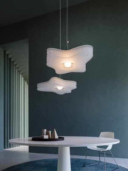 Cloud | H1 suspension by Rotaliana srl | Suspended lights