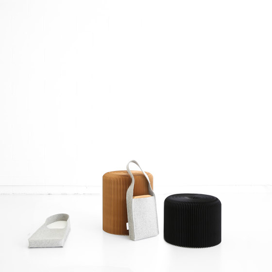softseating fanning stool + bench by molo | Poufs