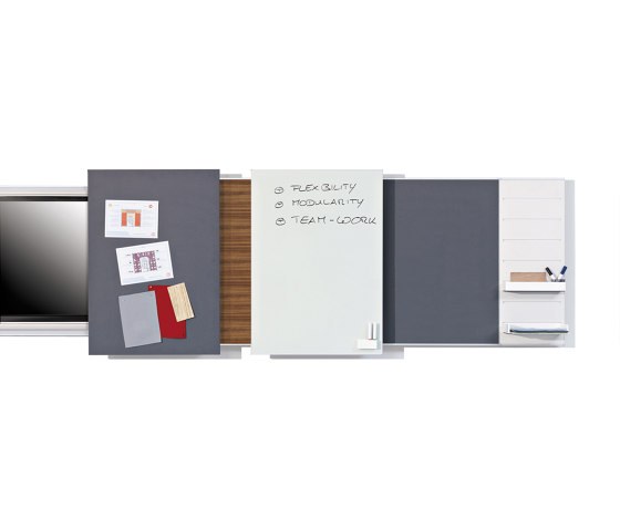 H. System by Steelcase | Flip charts / Writing boards