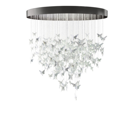 Re-cyclos Niagara Chandelier 2m (CE/UK) | White by Lladró | Suspended lights