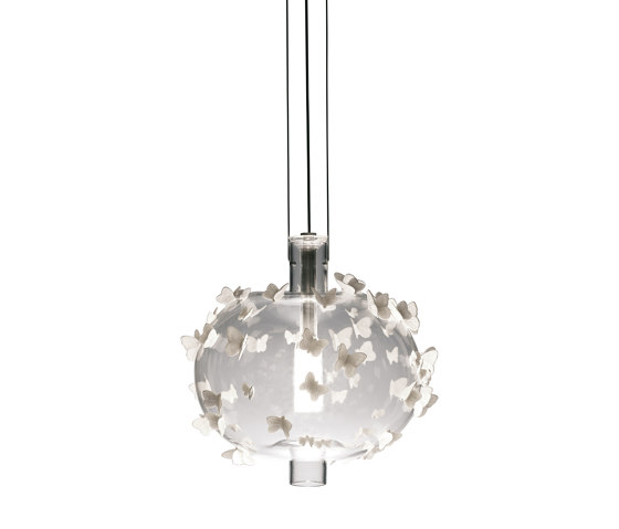 Re-cyclos Freeze Frame Butterflies Ceiling Lamp (CE) by Lladró | Suspended lights