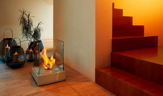 Mini T by EcoSmart Fire   Ventless fires