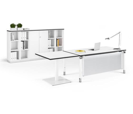 Antaro Desk di Assmann Büromöbel | Tavoli contract