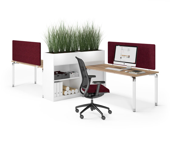 Antaro Desk by Assmann Büromöbel | Contract tables