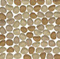 Frosted Pebble Sumatra by Original Style Limited | Glass mosaics