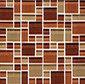Random Pattern Clear Mixed Tanganyika by Original Style Limited | Glass mosaics