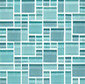 Random Pattern Clear Mixed Huron di Original Style Limited | Mosaici vetro
