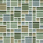 Random Pattern Clear Mixed Chapala di Original Style Limited | Mosaici vetro