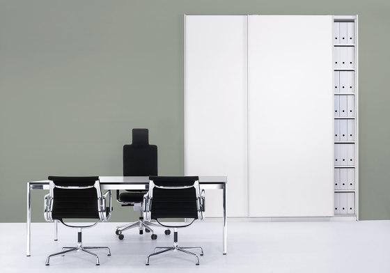 basic S Suspended door system de werner works | Armoires