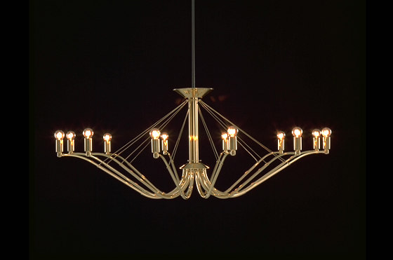GREN chandelier by Okholm Lighting | Chandeliers