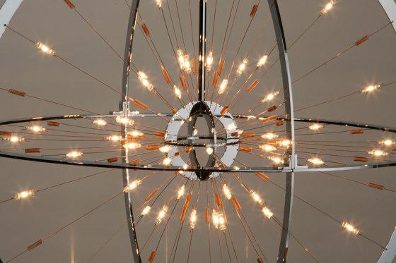 ARMILLA chandelier di Okholm Lighting | Lampadari