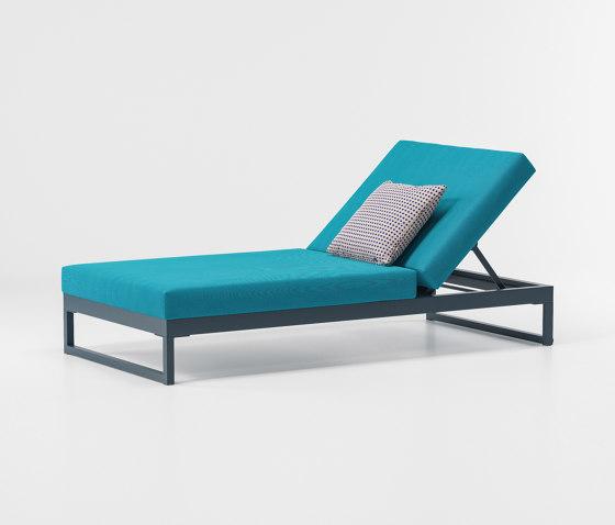 Landscape lounger with 5-position de KETTAL   Tumbonas