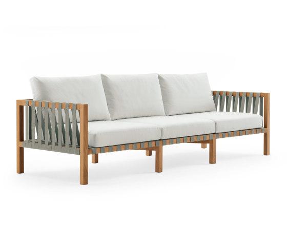 MISTRAL 103 3-Seater Sofa by Roda | Sofas