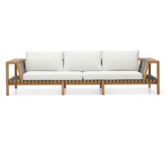 NETWORK 130 3-Seater Sofa by Roda   Sofas