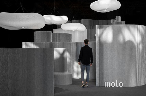 cloud softlight pendant by molo | Suspended lights
