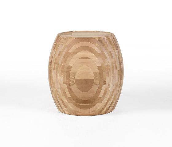 Motley Drum 40 - Cedar by Wildspirit   Poufs