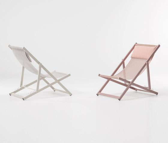 Landscape 4 positions folding transat von KETTAL | Sessel