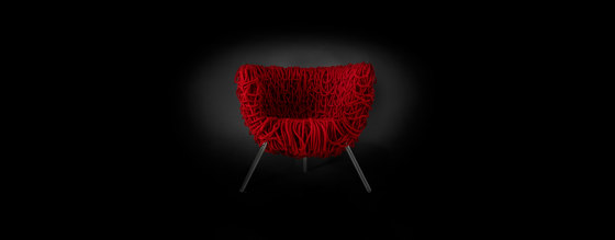 Vermelha by Edra spa | Armchairs