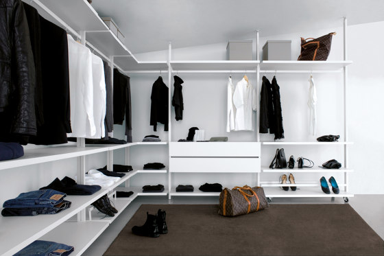 Personal by Extendo | Walk-in wardrobes