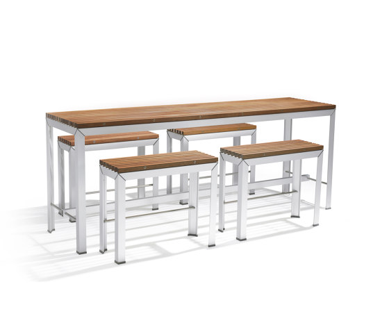 Extempore high table by extremis | Standing tables