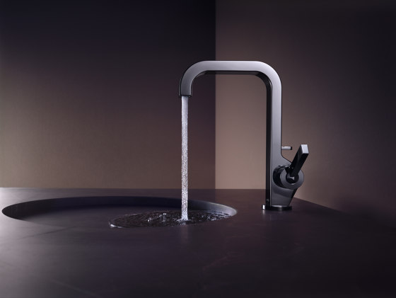 AXOR Citterio Single Lever Basin Mixer with high spout DN15 by AXOR | Wash basin taps