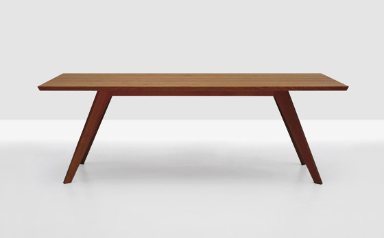 Cena rectangular by Zeitraum | Dining tables