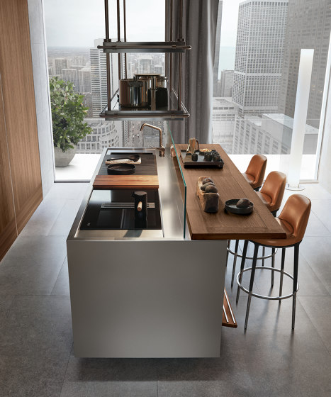 Italia, Modus Doors System by Arclinea | Fitted kitchens