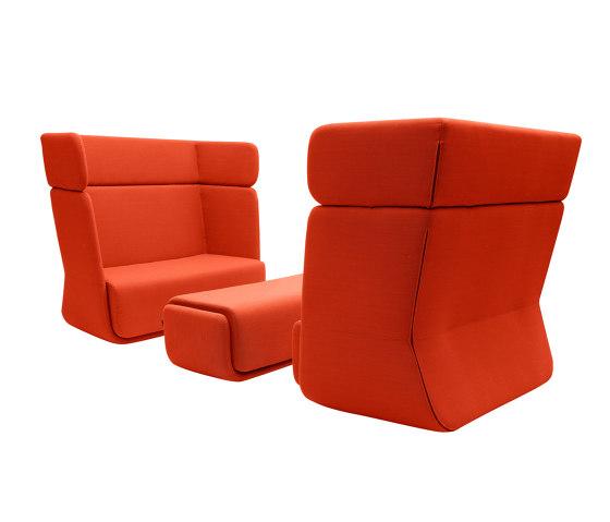 BASKET Sofa - Hoch von SOFTLINE | Sessel