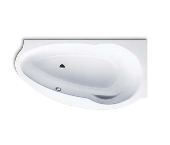 Studio left alpine white by Kaldewei | Bathtubs