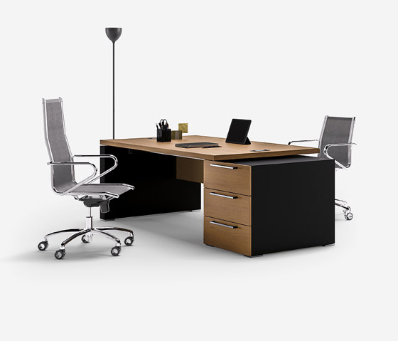 Ego executive by Sinetica Industries | Desks