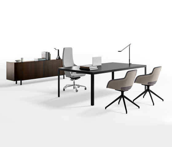 Frame EVO executive by Sinetica Industries | Desks