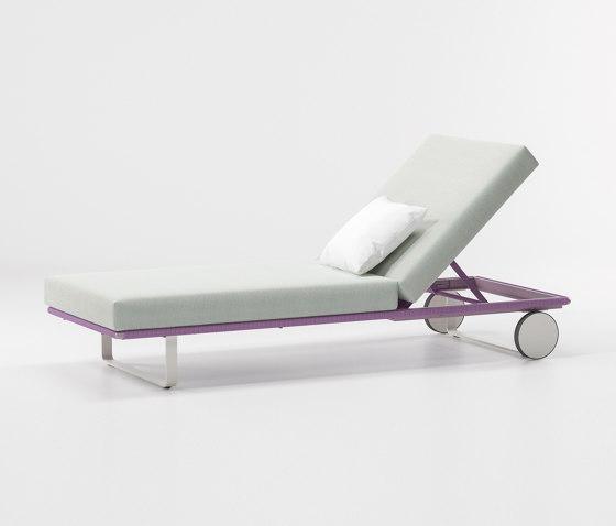 Bitta deckchair module de KETTAL | Tumbonas