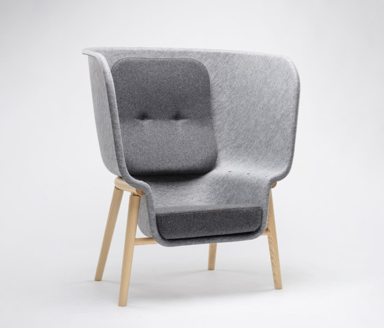 Pod Privacy Chair by De Vorm | Armchairs