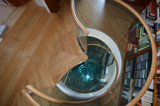 Sky Screw by Siller Treppen | Staircase systems