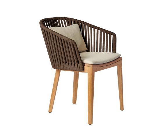 Mood Dining Chair | Earthbrown von Tribù | Stühle