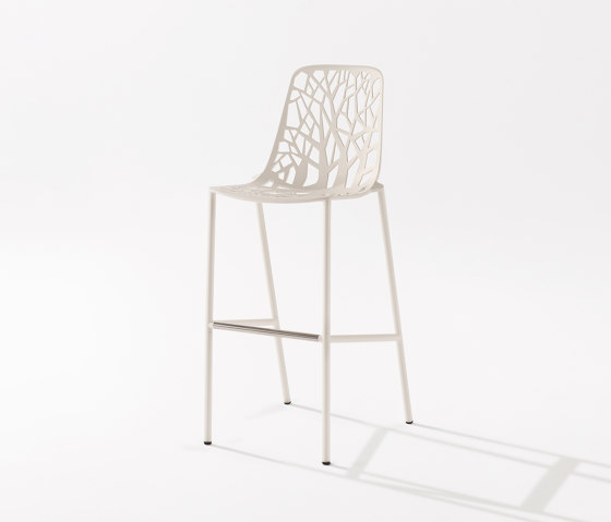Forest barstool high backrest by Fast | Bar stools