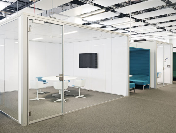 Lindner Cube solo by Lindner Group | Soundproofing room-in-room systems