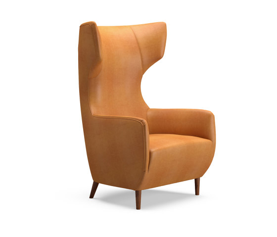 Hardy Wingback Chair by Dare Studio   Armchairs