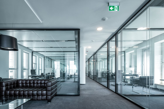 Lindner Life Hybrid 622 by Lindner Group | Wall partition systems
