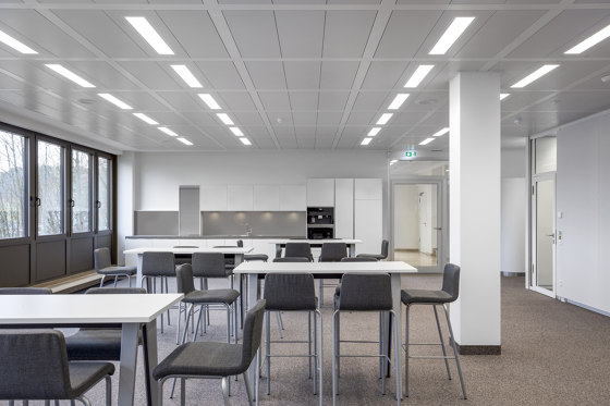 BASICline by Lindner Group | Suspended ceilings
