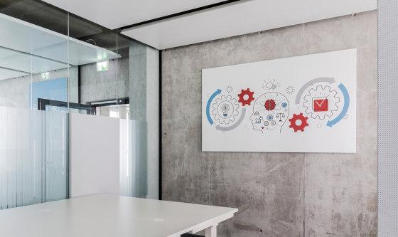COMPprint acoustic de Lindner Group | Paneles de techo