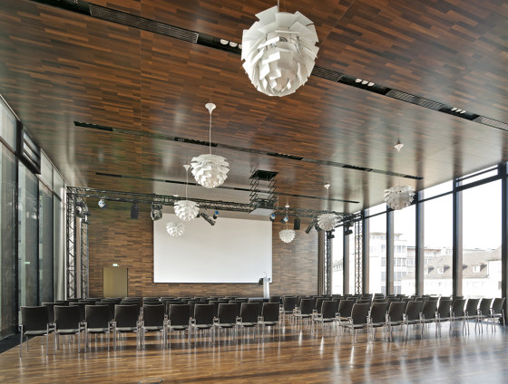 COMPwood by Lindner Group | Ceiling panels