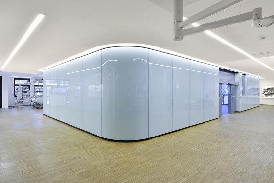 Lindner Free Glass by Lindner Group   Ceiling panels