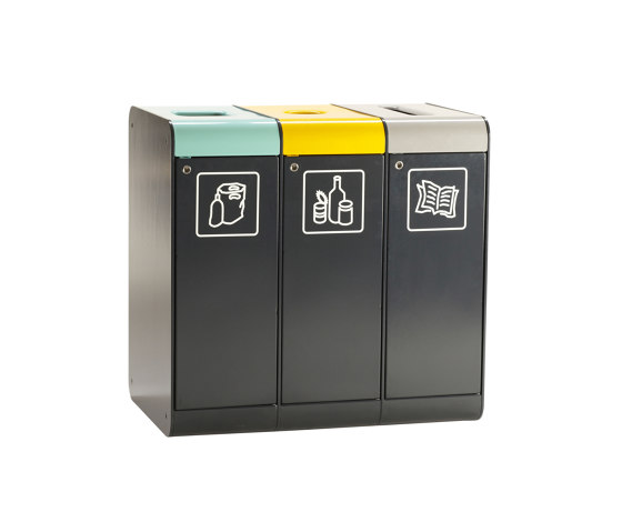 Acceptor 110 recycle by Vestre | Waste baskets