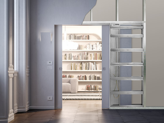 ECLISSE Syntesis® Luce Double by ECLISSE | Internal doors
