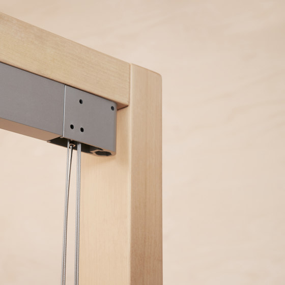 System W1 by Ann Idstein | Cord operated systems