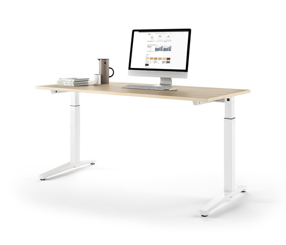 Canvaro Desk by Assmann Büromöbel | Contract tables