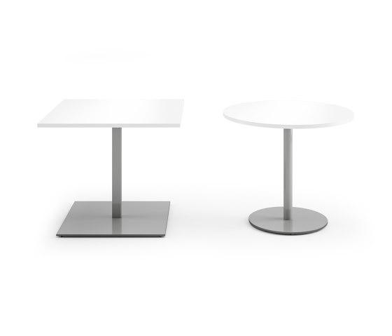 Pontis bistro tables by Assmann Büromöbel | Contract tables