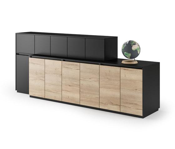 Intavis Storage system di Assmann Büromöbel | Armadi