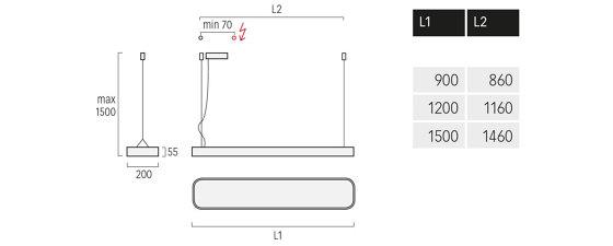 Caleo-G1/P1 de Lightnet | Suspensions